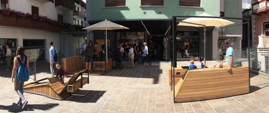 Piazza multimediale - totem outdoor - interactive display